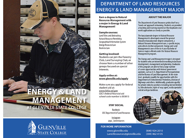 Energy and Land Management Info Card