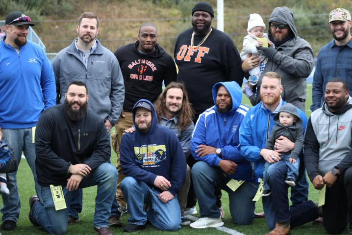 Members of the 2008 WVIAC Championship Football Team