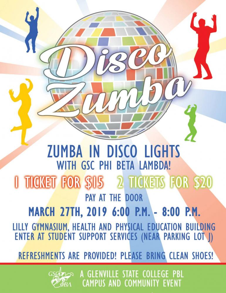 Disco Zumba Event Planned at GSC   Glenville State College