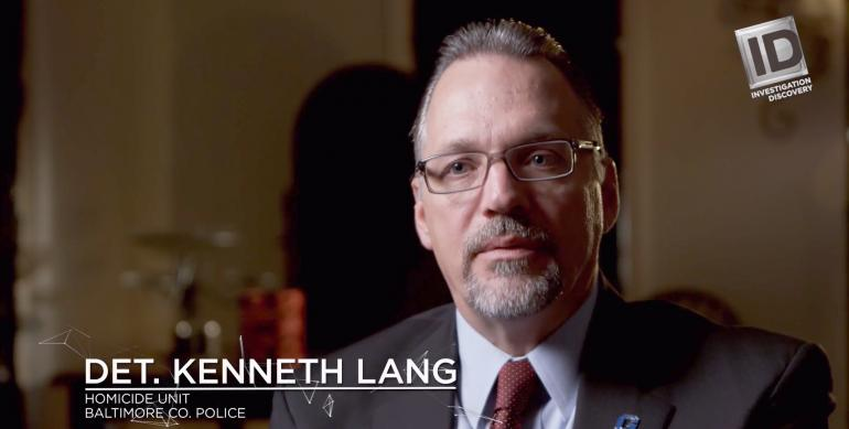 Ken Lang as featured on the Investigation Discovery program Murder Decoded | Investigation Discovery courtesy photo