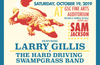 2019 GSC Bluegrass Annual Fall Homecoming Concert Poster