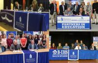 Dual Enrollment agreements exist between GSC and several high schools in the region, including James Monroe High School, Nicholas County and Richwood High Schools, Braxton County High School, and Buckhannon-Upshur High School, among others