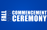 GSC's fall 2020 graduates will celebrate their commencement on Saturday, November 21
