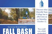 The 2020 Glenville State College Fall Bash will take place on Saturday, October 17