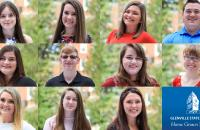 The new Glenville State College Home Grown Scholars for the 2020-2021 academic year include: (l-r) top row: Nicole Bailey, Erin Barnette, Emily Barr, Brandon Bowie; middle row: Rylee Copeland, Adam Davis, Josie Hill, Kayla Kulik; bottom row: Emily Lewis, Abigail Long, Peyton Smith