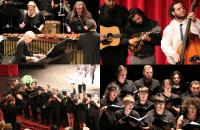 Music Fest features performances by all of your favorite GSC ensembles, including Percussion Ensemble, the Bluegrass Band, Concert Choir, and Marching Band