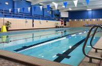 The Glenville State College Pool, pictured, will be the site of upcoming Red Cross lifeguard certification classes.