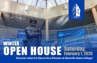 You're invited to attend the upcoming Winter Open House on Saturday, February 1 at Glenville State College