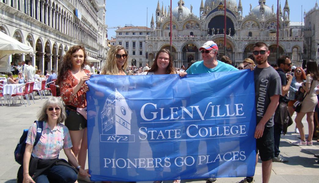 GSC in St. Mark's Square, Italy